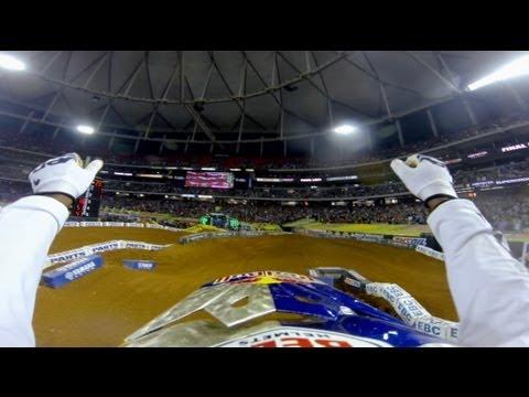 GoPro Sweep 2013 Monster Energy Supercross from Atlanta