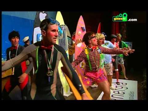 La comparsa del Tarifa. Carnaval de Gines 2014 (Gran Final)
