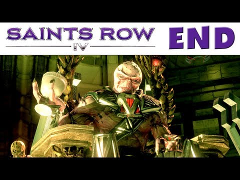 Saints Row IV - Gameplay Walkthrough Part 31 - Zinyak Boss Fight! ENDING (PC, Xbox 360, PS3)