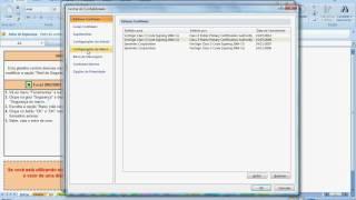 Habilitação Das Macros Excel 2007/2010