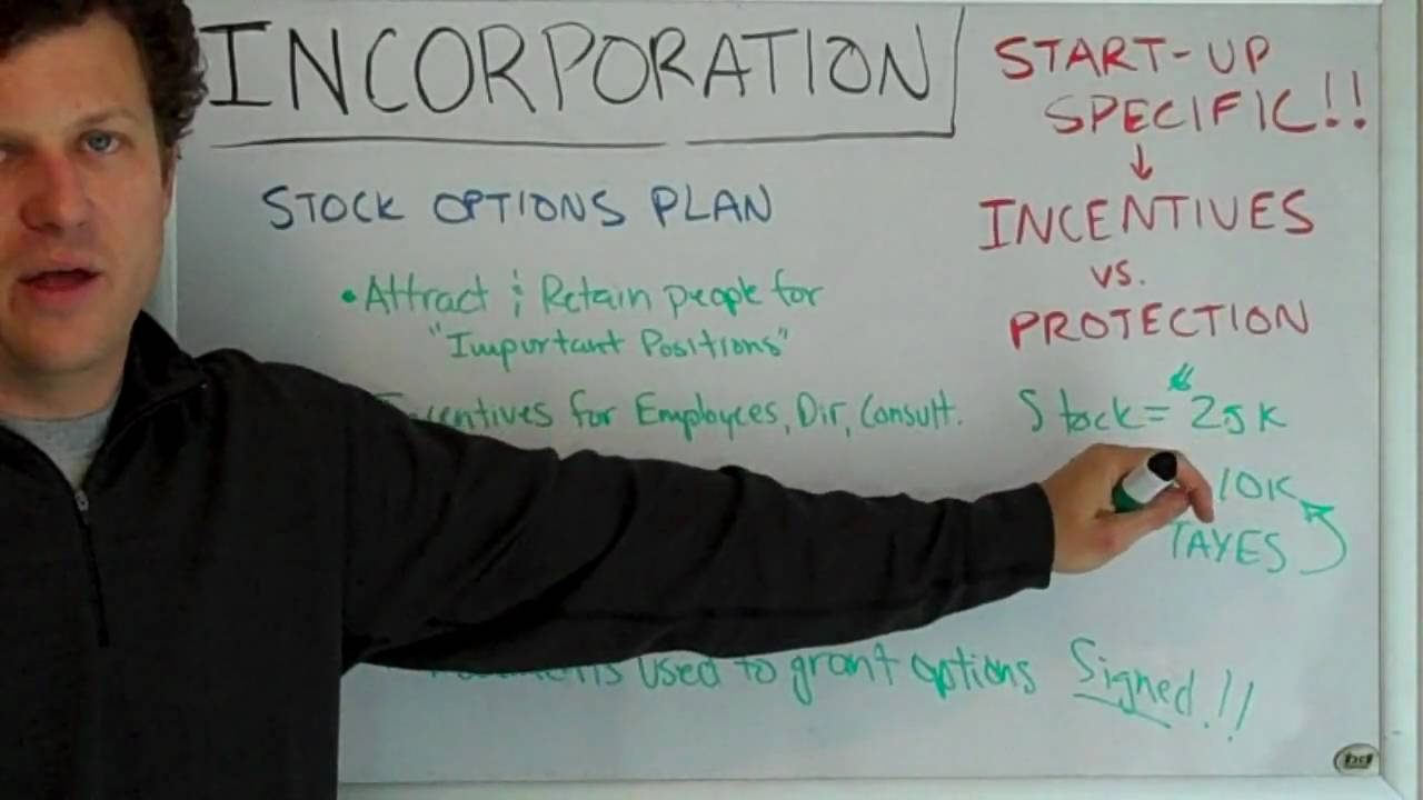 Employee stock options video