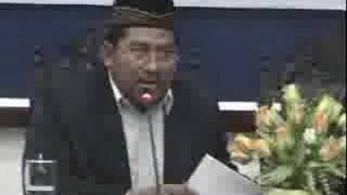 Debat Terbuka NU - Wahabi Part 7