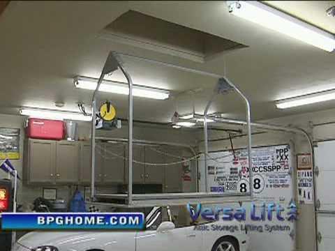 Versa Lift Garage To Attic Storage Elevator Youtube