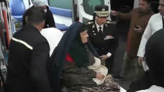 الرئيس السيسي يأمر بعلاج سيدة مسنة فور