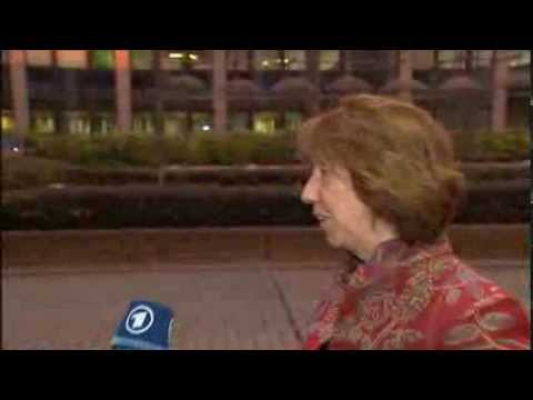 Foreign Affairs Council arrivals: Arrival and doorstep by Catherine ASHTON