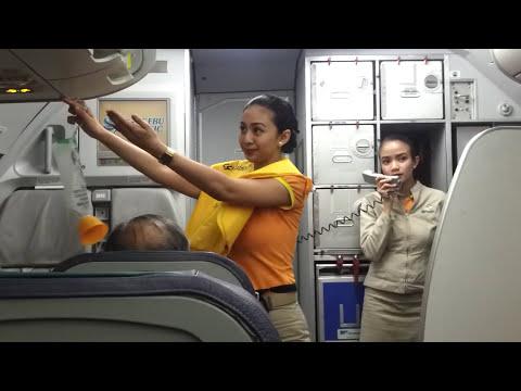 PALAWAN -Flight Attendant Safety Demo