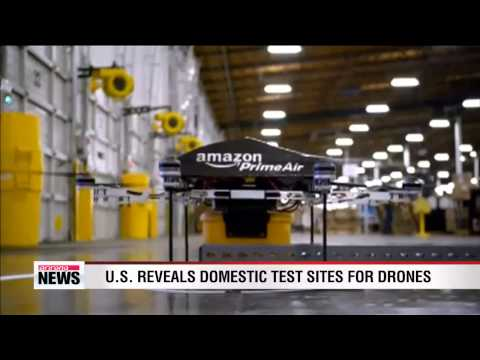 U.S. reveals domestic tests sites for drones