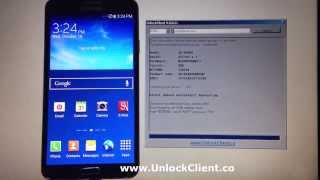 Unlock Samsung Galaxy Note 3 N900A N900T N900W N900W8 By