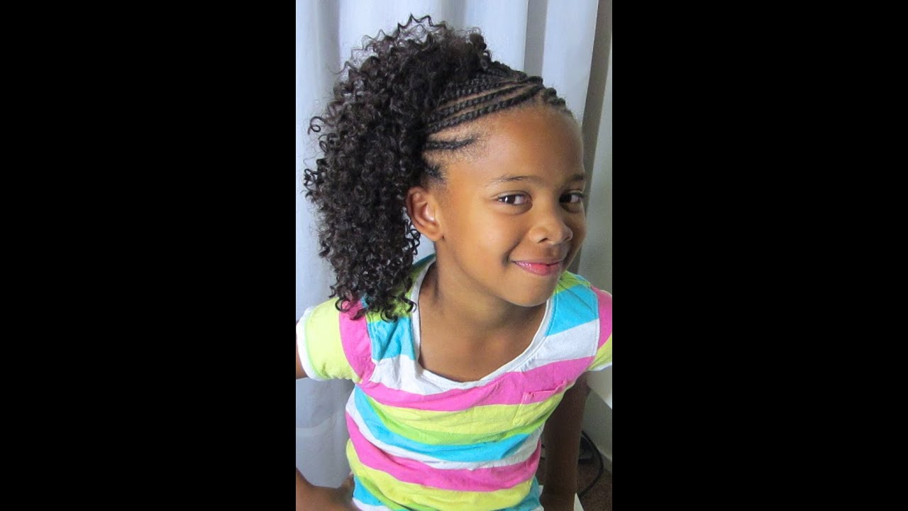 Crochet Youtube Hair Styles : Crochet Braids!!! (Kids Style) - YouTube