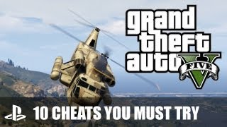 GTA V PS3 Cheats: 10 Grand Theft Auto V Cheats You Must