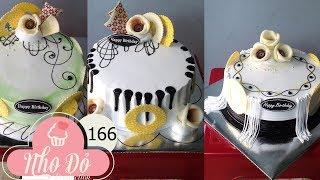 Cách Làm Bánh Kem Đơn Giản Đẹp ( 166 ) Cake Icing Tutorials Buttercream ( 166 )