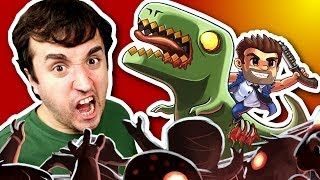 MATANDO ZUMBI! - Age of Zombies (ipad)