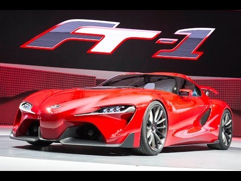 Toyota FT-1 Concept Reveal NAIAS - Detroit Motor Show