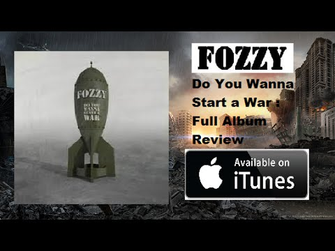 FOZZY -  Do You Wanna Start A War FULL ALBUM REVIEW