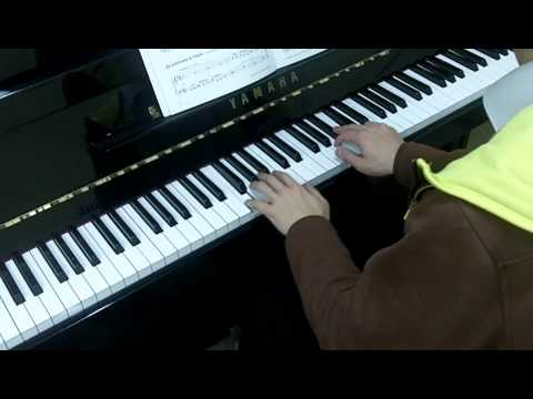 Trinity Guildhall Piano 2012-2014 Grade 2 Exercise 1a Weird Waltz (Tone Balance Voicing)