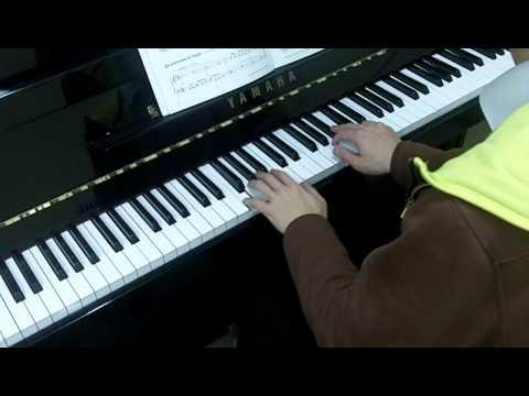 Trinity Guildhall Piano 2012-2014 Grade 2 Exercise 1a Weird Waltz (Tone Balance Voicing)