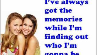 Miley Cyrus Ft. Emily Osment Wherever I Go Lyrics On The