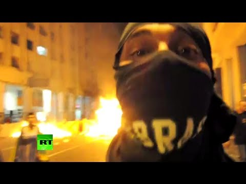 Brazil Boiling: Video of brutal clashes as country gripped by protests