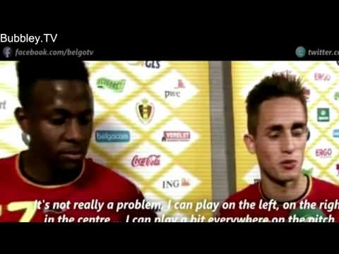 Adnan Januzaj Individual Highlights   International Debut   Belgium vs Luxembourg 5 1   HD   7