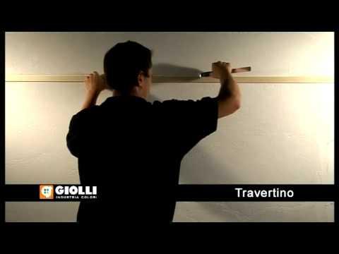 Giolli - travertino - trawertyn - tynk dekoracyjny
