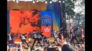 190515 - Fire - BTS 방탄소년단 - GMA Summer Concert Series - HD FANCAM