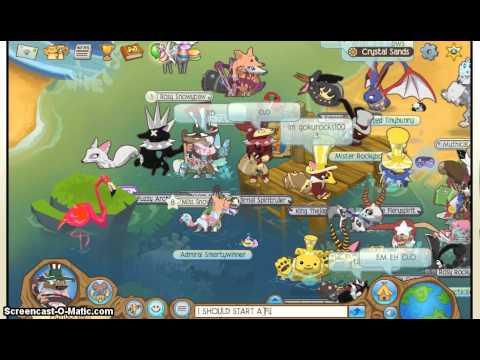 Animal Jam: Meeting MaskedHeart! :D