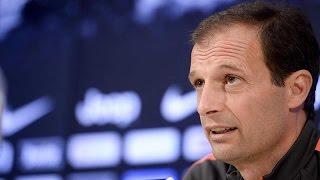 La conferenza di Allegri alla vigilia di Juventus-Cagliari - Allegri's pre-match Cagliari conference