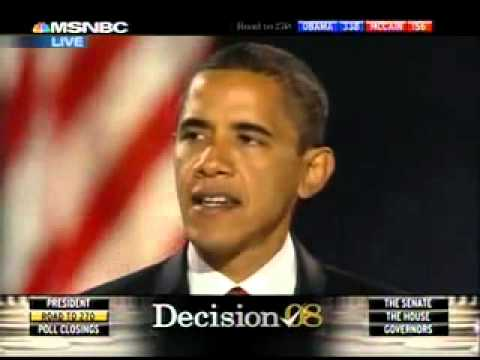 president-elect barack obama victory speech 04 november 2008