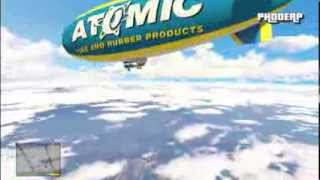 """GTA 5"" ""ATOMIC BLIMP"" FULL Gameplay Flying The Atomic"