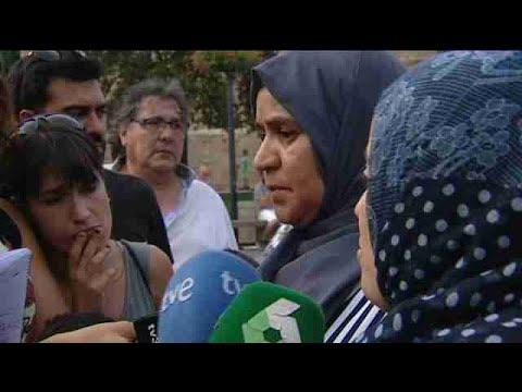 والدة مغربي متهم في اعتداء برشلونة تفجرها