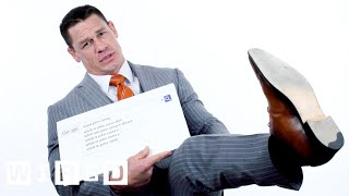 John Cena Answers the Web's Most Searched Questions | WIRED