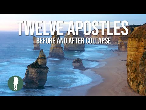 Great Ocean Road, 12 Apostles, Before Collapse in HD
