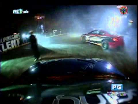 Car drifters in death-defying 'PGT' showcase