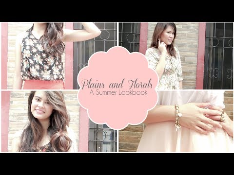 Plains and Florals A Summer Lookbook Ft. my sister | Abbybaby