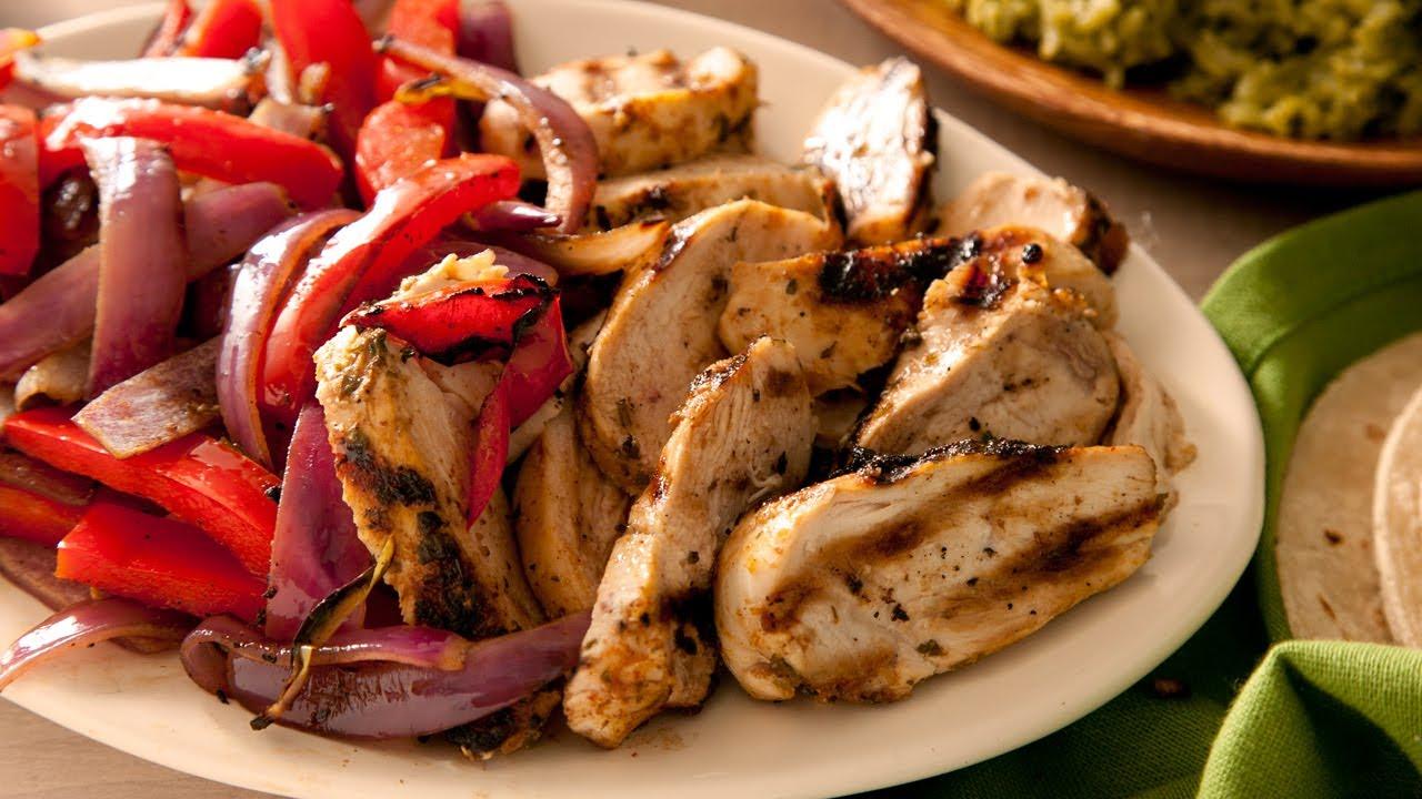 Easy Chicken Fajitas - How to Make The Easiest Way - YouTube