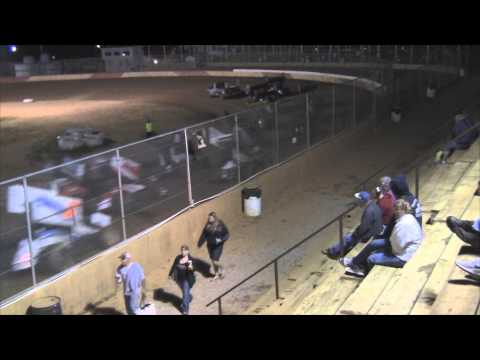 Trail-Way Speedway 358 Sprint Car Highlights 7-04-14