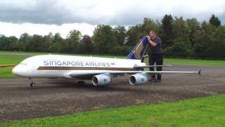 O Airbus A-380 com controle remoto