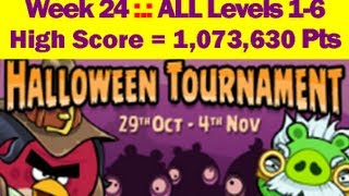 Halloween Tournament Days 1-6 Angry Birds Friends HIGH
