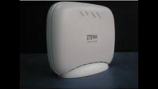 Como Rotear Modem ZTE ZXV10 W300