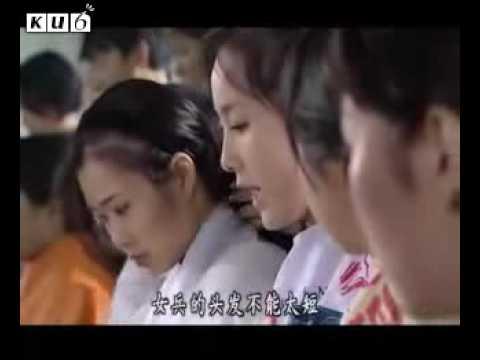 Hình ảnh trong video Chinese women military haircut