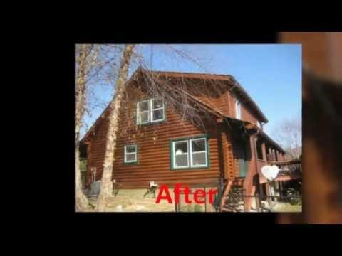 Log Home Restoration Virginia | Log Home Artisan, Inc.