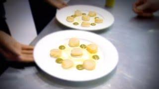 Perfect Scallops with Cauliflower Puree - Gordon Ramsay