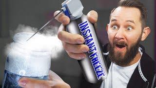 INSTANT Freeze Spray! | 10 Strange Amazon Items