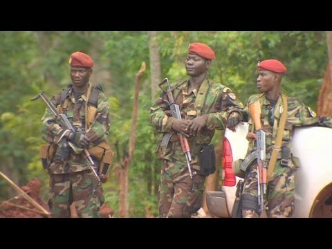 Troops hunt for Joseph Kony in Central Africa