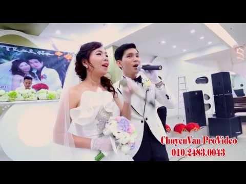 Tuấn Kiệt & Diễm Trang - Chú rể cô dâu song ca chất như  ca sỹ - Thề non hẹn biển