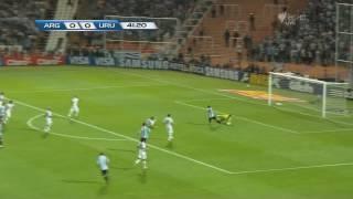 Magical Lionel Messi V Uruguay WC Qualifer 2014 Match