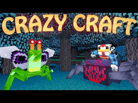 "Minecraft | CrazyCraft - OreSpawn Modded Survival Ep 21 - ""EVIL PLANTS MOD"""