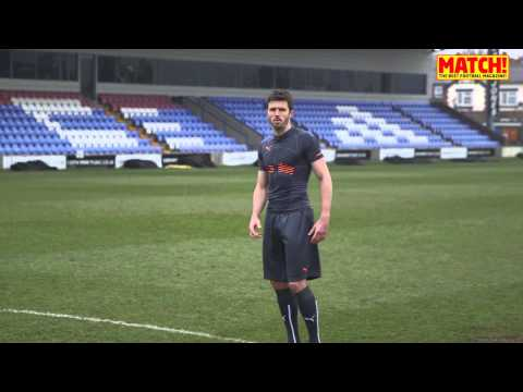 Michael Carrick's PUMA EvoPOWER Challenge -- Part 2 -- MATCH