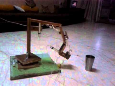 how to make a crane for a school project