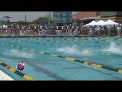 Michael Phelps 50 Free Prelims Swim - 2014 ARENA GRAND PRIX at MESA